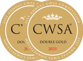 CWSA 2021 stickers Double Gold Medal