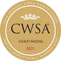 CWSA 2021 stickers Gold Medal