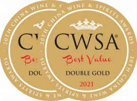 CWSA BV 2021 stickers Double Gold Medal