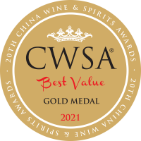 CWSA BV 2021 stickers Gold Medal